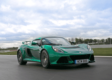 With a supercharged engine delivering 345bhp and Touring, Sport or Race settings, the Exige gets the adrenaline pumping – while you stay in control.