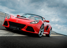 A 3.5-litre supercharged V6 engine and a removable roof melded with sultry, aggressive lines: the Lotus Exige S Roadster will captivate you instantly.